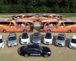 Hyundai a livrat flota de masini pentru Cupa Mondiala de Fotbal Feminin