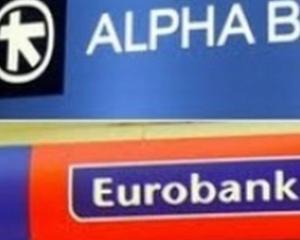 Afla cat au pierdut Grupul EFG Eurobank si Alpha Bank in primul trimestru, in Romania