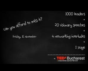 Pe locuri, fiti gata, start TEDxBucharest 2012!
