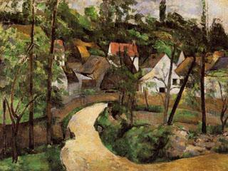 Culori si panza pentru Paul Cezanne