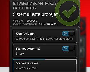 Bitdefender a lansat o versiune gratuita de antivirus, disponibila doar pentru romani