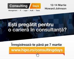 Incepe cea de-a doua editie a proiectului Consulting Days
