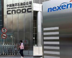 CNOOC, compania chinezeasca producatoare de petrol, a preluat Nexen. Este cea mai mare tranzactie chinezeasca in strainatate