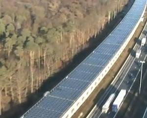 Primul tunel alimentat in intregime cu energie solara a fost inaugurat in Belgia