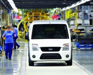 In trei ani, Ford a asamblat 11.700 de masini in Romania