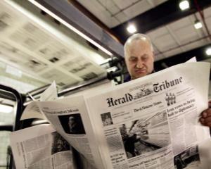 International Herald Tribune sarbatoreste 125 de ani de la infiintare