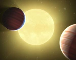 PREMIERA: Au fost descoperite doua planete care impart aceeasi orbita