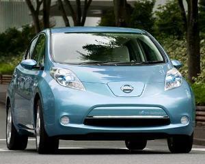 Nissan vrea sa devina cel mai mare constructor de vehicule electrice
