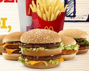 Vanzarile McDonald's au crescut cu 2,9% in Europa la nivelul lunii mai