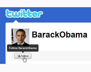 Doi din trei lideri politici au cont pe Twitter