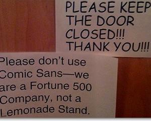 12 fonturi pe care NU trebuie sa le folosesti in afaceri