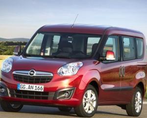 Noul Opel Combo - de la 14.149 de euro in Romania