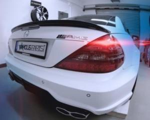 Mercedes-Benz SL500 by Famous Parts, jucarie pentru baietii cu bani