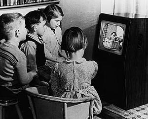 Peste 13.000 de gospodarii britanice au televizor alb-negru