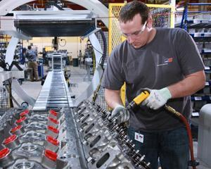 Productia industriala germana a scazut pe neasteptate in aprilie
