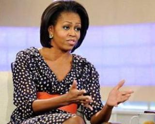Lui Michelle Obama ii plac rochiile de la H&M