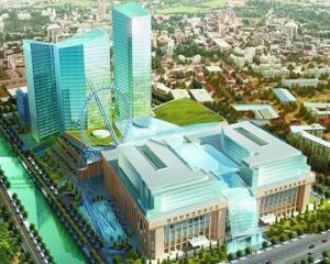Dambovita Center reloaded: mall si turn de 26 de etaje