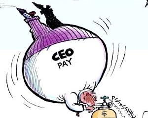 ANALIZA: Salariile mari ale sefilor, acordate pe baza unui mit