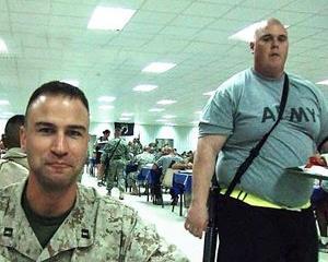 Soldatii americani, lasati la vatra din cauza obezitatii