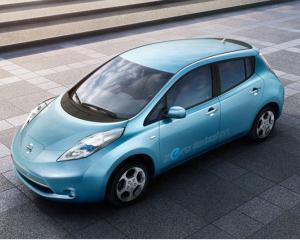 Nissan Leaf, prima masina electrica care castiga un premiu auto international
