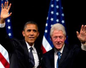 Bill Clinton nu sta departe de Casa Alba