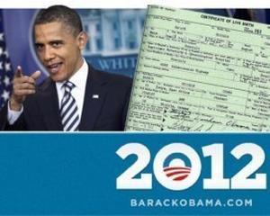 Ce poti face cu 25 de dolari: Cumpara un tricou cu certificatul de nastere al lui Obama