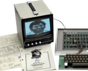 Un computer Apple I de colectie a fost scos la licitatie
