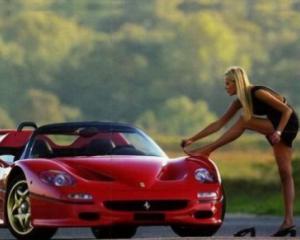 Stiinta o dovedeste: O masina tare chiar este magnet pentru femei!