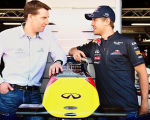 Infiniti l-a numit pe Sebastian Vettel ambasador global