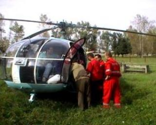 Serviciul SMURD ar putea avea opt puncte de elicoptere pana in 2015