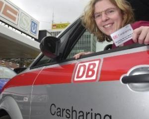 Deutsche Bahn intentioneaza sa creeze o noua retea de car-sharing