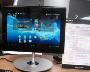 Sony a lansat in Romania tableta Xperia. Dispozitivul este disponibil in magazine