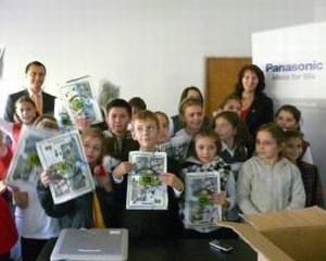 Panasonic: Profesorii romani isi pot organiza acum propriile lectii de ecologie