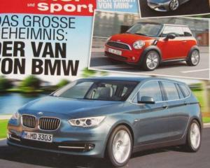 BMW va lansa un monovolum si un Mini-Mini