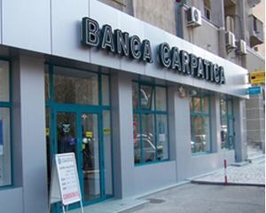 Banca Comerciala Carpatica, pierderi de 13,51 milioane de lei in primul trimestru