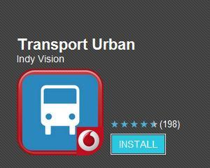 Vodafone lanseaza noi versiuni ale aplicatiilor Transport Urban si Mersul Trenurilor