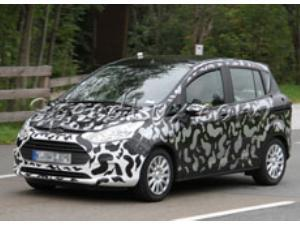 Ford B-Max, modelul fabricat la Craiova, surprins la teste pe sosea