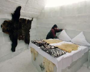 Hotel of Ice de la Balea Lac prinde forma