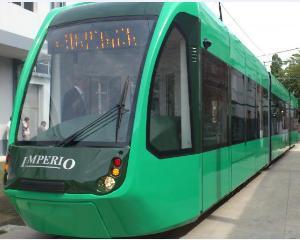 Noile tramvaie Imperio Eco, in valoare de doua milioane de euro, isi asteapta proprietarii