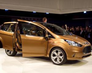 Pentru inceput, Ford vrea sa produca la Craiova 50.000 de modele B-Max