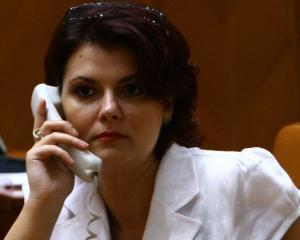 Olguta Vasilescu, amendata de politia locala, dupa ce