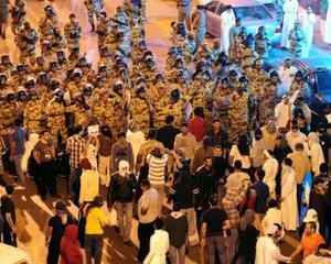 In Arabia Saudita a fost deschis focul impotriva protestatarilor