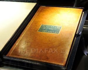 O carte din biblioteca presedintelui George Washington a fost vanduta la licitatie