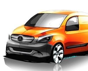 Mercedes va avea autovehicul comercial citadin