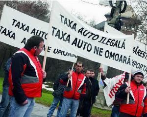 Noua lege a taxei auto, in vigoare de sambata