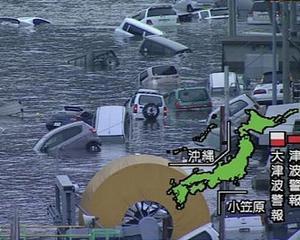 Japonia se rupe in bucati: Cutremur cu magnitudinea de 8,9 grade pe scara Richter, amenintare de tsumani