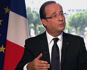Hollande incearca sa recastige increderea francezilor