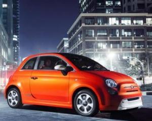 Fiat nu va vinde modelul electric 500e in Europa