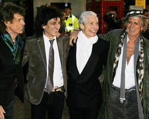 The Rolling Stones aniverseaza 50 de ani chiar pe scena