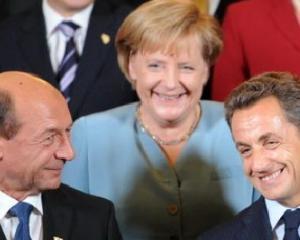 Basescu se intelege de minune cu Angela Merkel si cu Nicolas Sarkozy